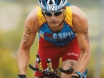 U.S. National Triathlete Jay Hewitt Keeps A Finish Line Vision