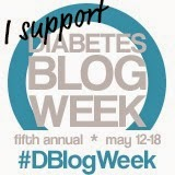 Click on the #Dblogweek buttoin