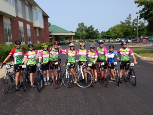 CVA Ride to Cure Team Lines Up for Tune Up